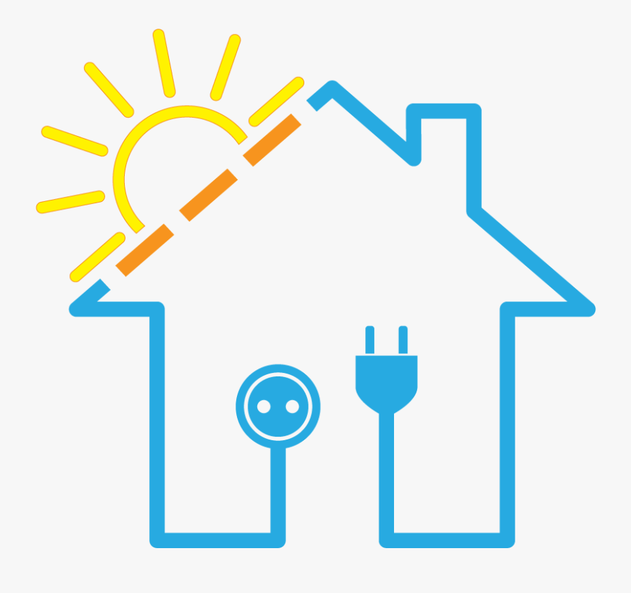 Solar Power System Transparent Background - Background Solar Power System, Transparent Clipart