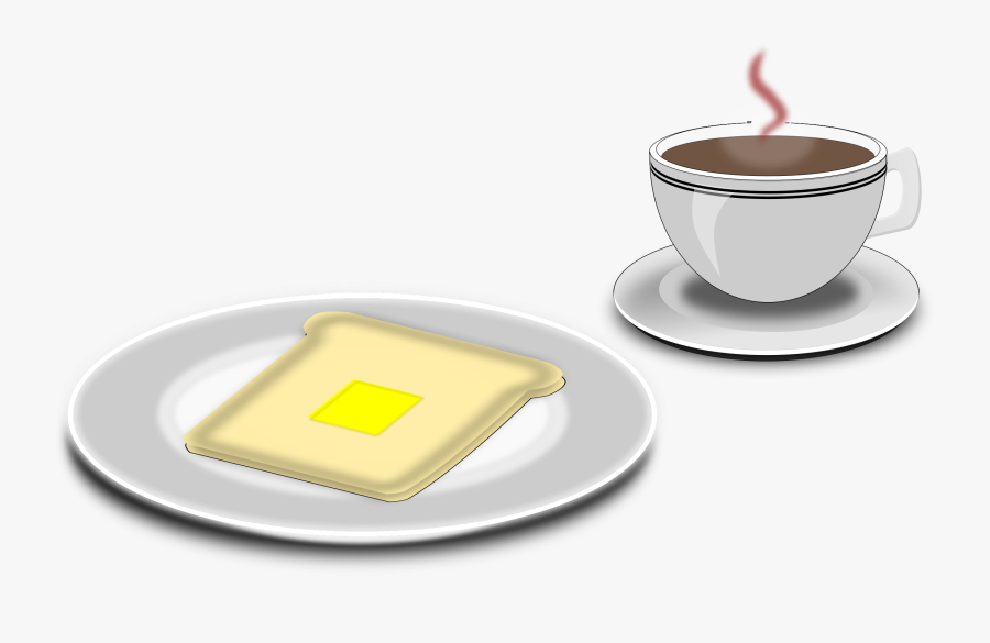 Breakfast Coffee And Muffin Clipart, Transparent Clipart