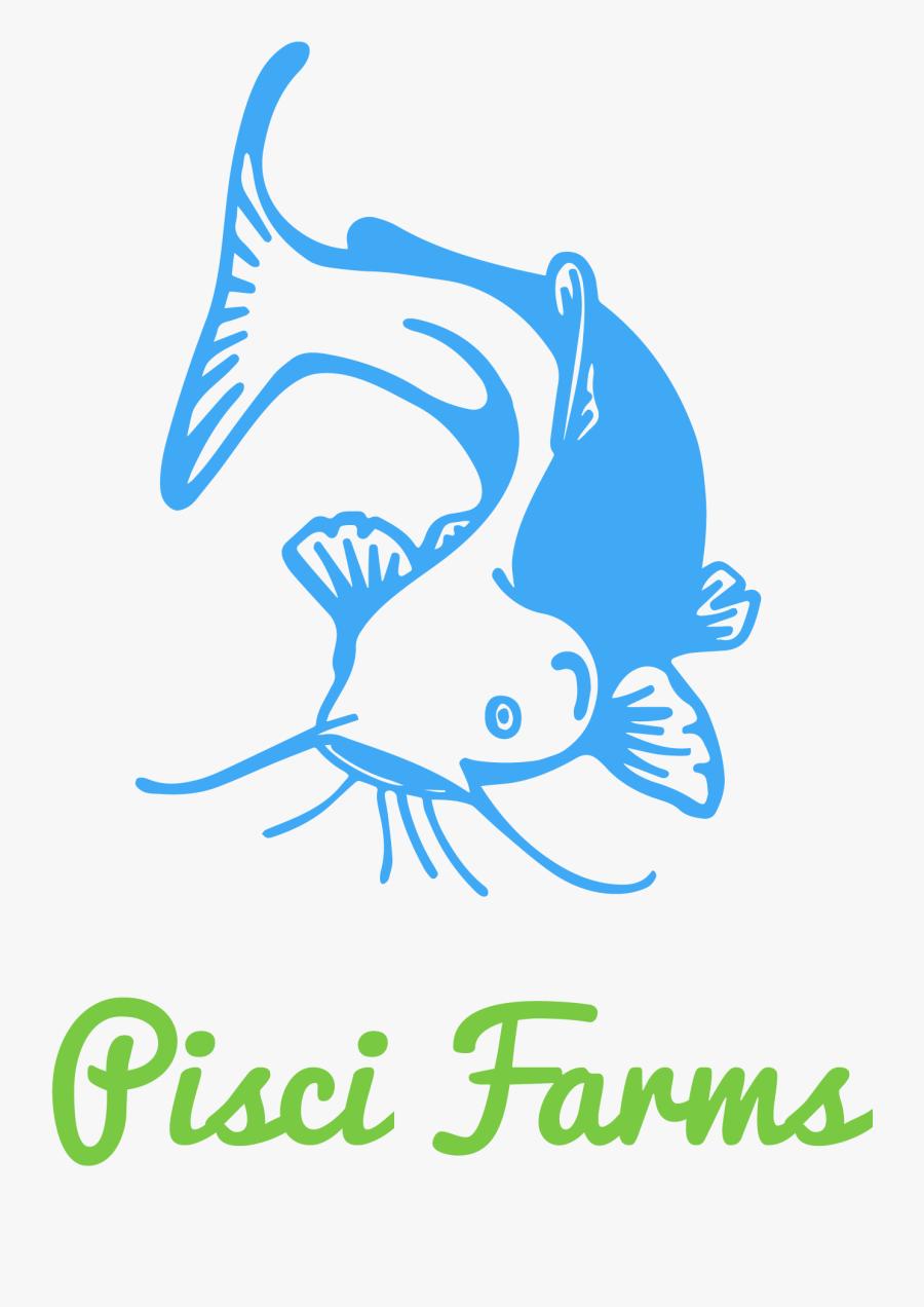 Transparent Small Fish Png - Logo For Fish Farming, Transparent Clipart