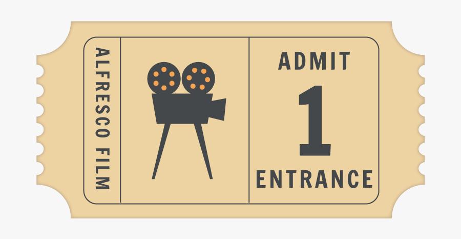 Greatest Showman Movie Tickets, Transparent Clipart
