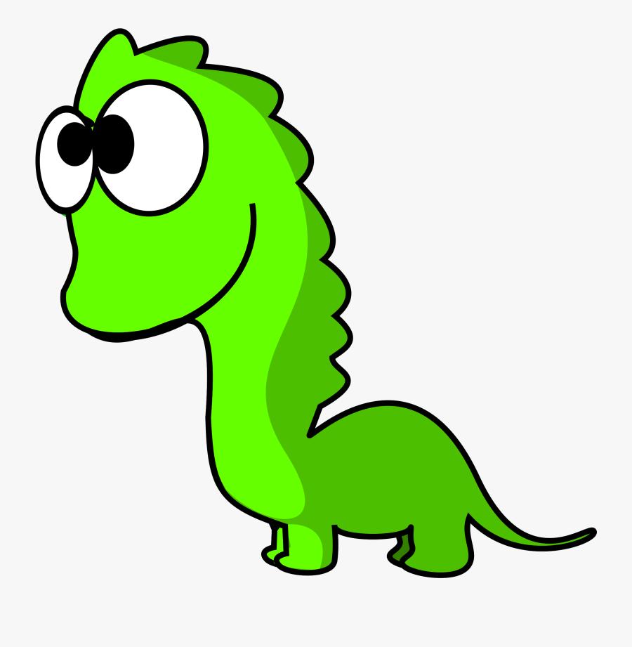 Dinosaur Comics Clipart - Cartoon Dinosaur Without Background, Transparent Clipart