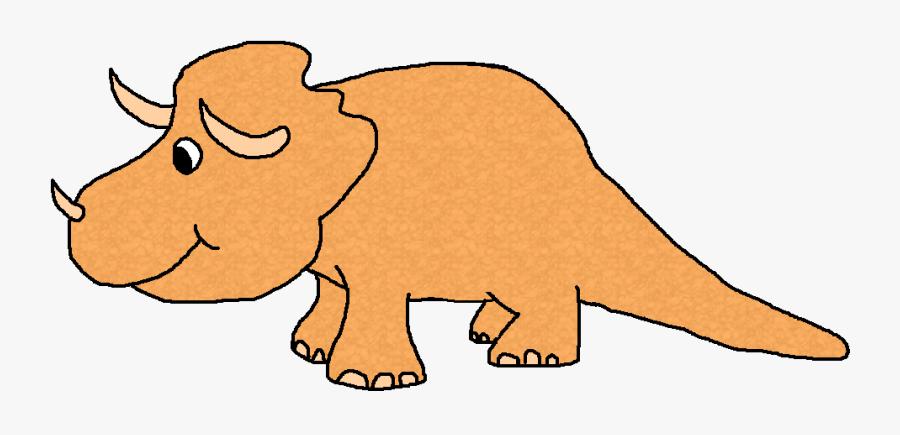 Dinosaur Clipart Orange Dinosaur - Pink Dinosaurs Clip Art, Transparent Clipart