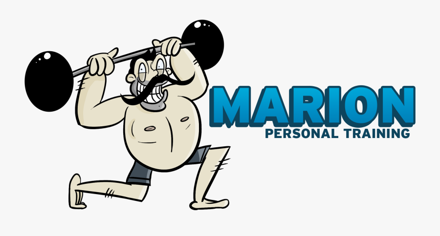 Weightlifting Clipart Bicep Curl - Cartoon, Transparent Clipart
