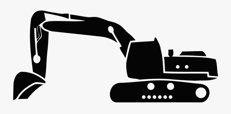 Clay Excavating Guarantee - Back Hoe Svg, Transparent Clipart