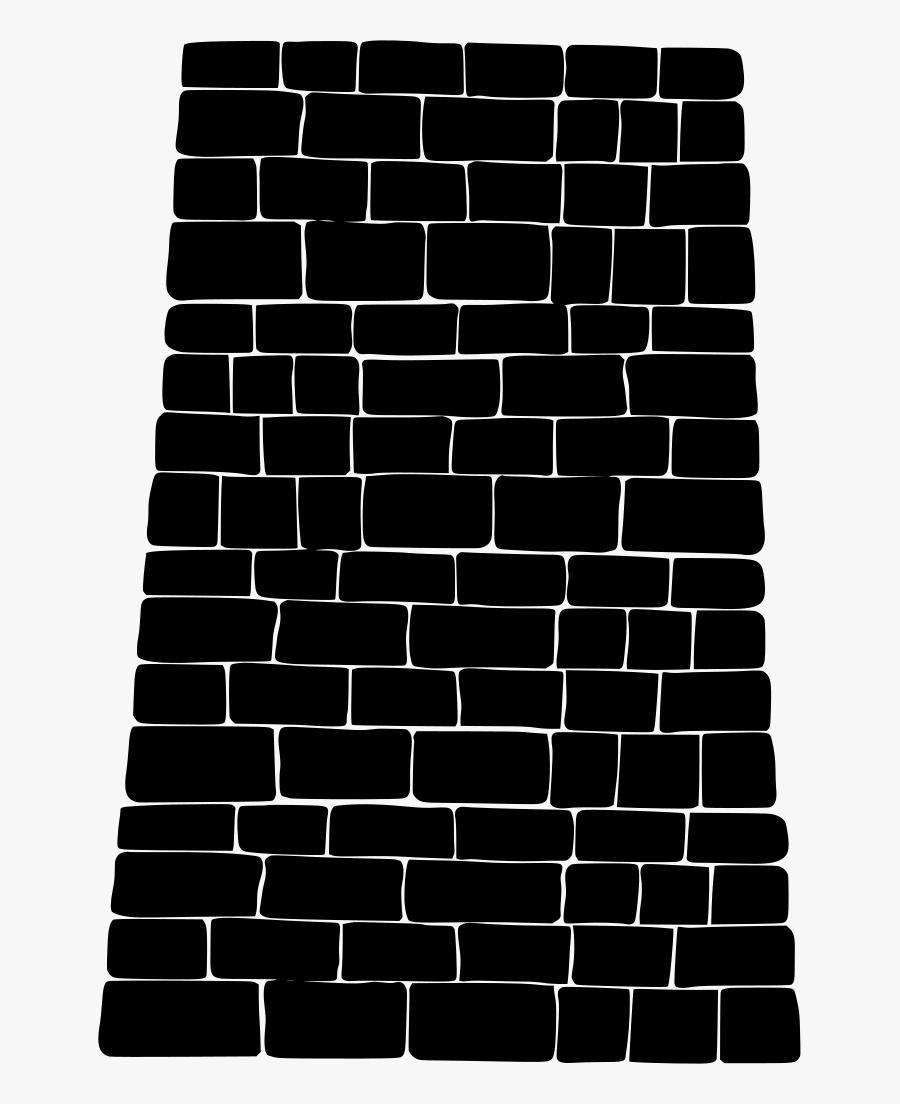 Big Wall Crude - Brick Wall Clipart, Transparent Clipart