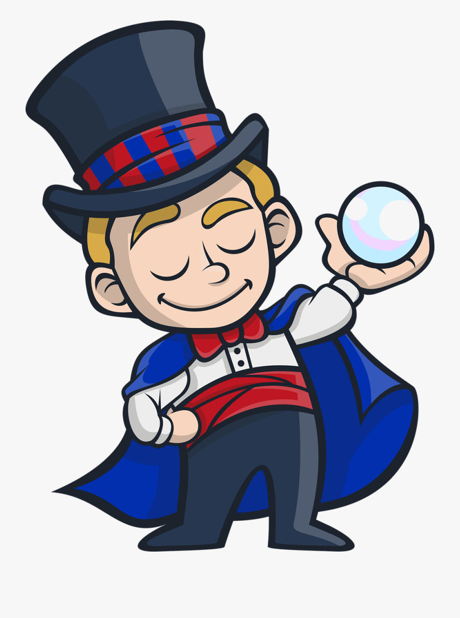 Misdirection In Coaching Be A Magician - Magician Png, Transparent Clipart