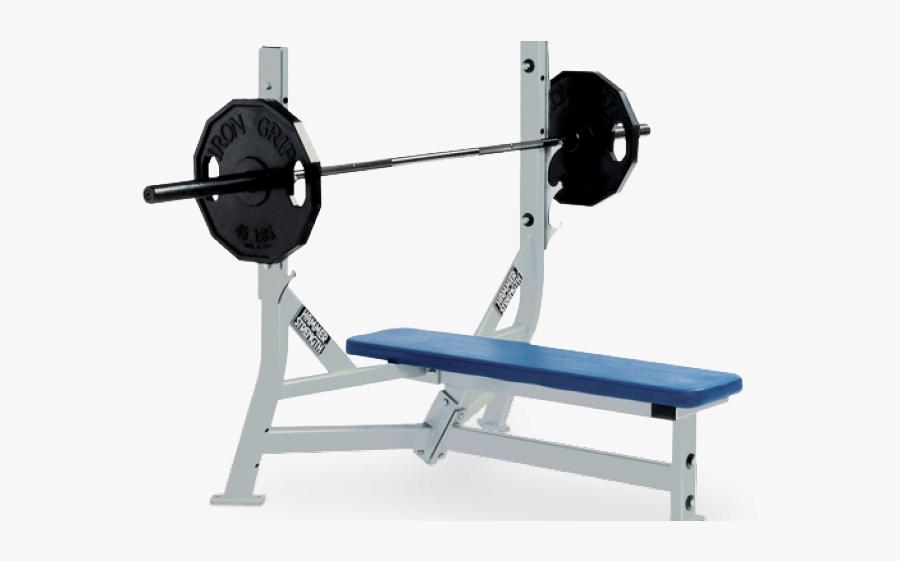 Hammer Strength Bench Press, Transparent Clipart