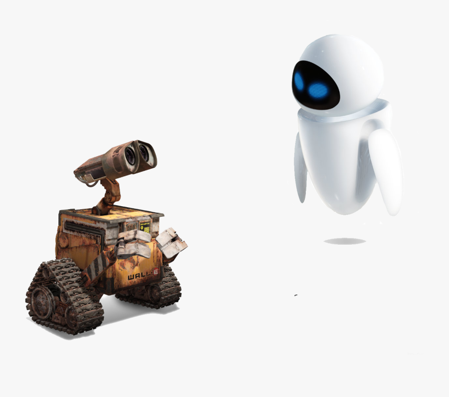 Download Wall E Png Clipart For Designing Projects - Wall E And Eve Transparent, Transparent Clipart