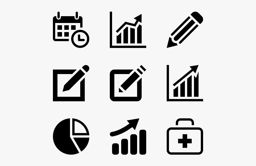 Simpleicon Business - กราฟ Icon, Transparent Clipart