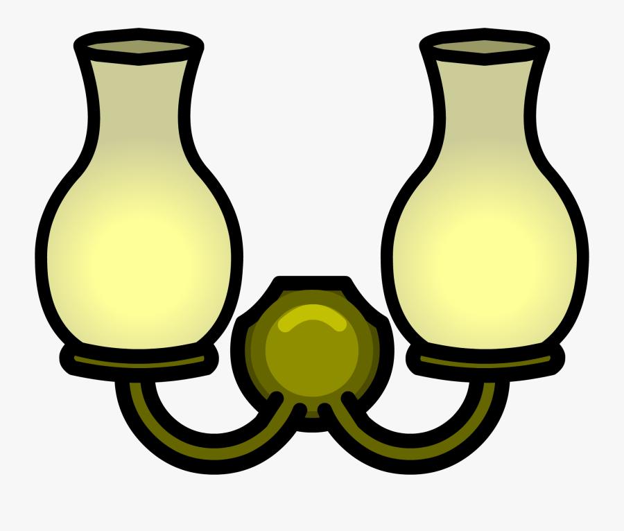 Image Double Wall Light - Wall Lamp Clipart Png, Transparent Clipart