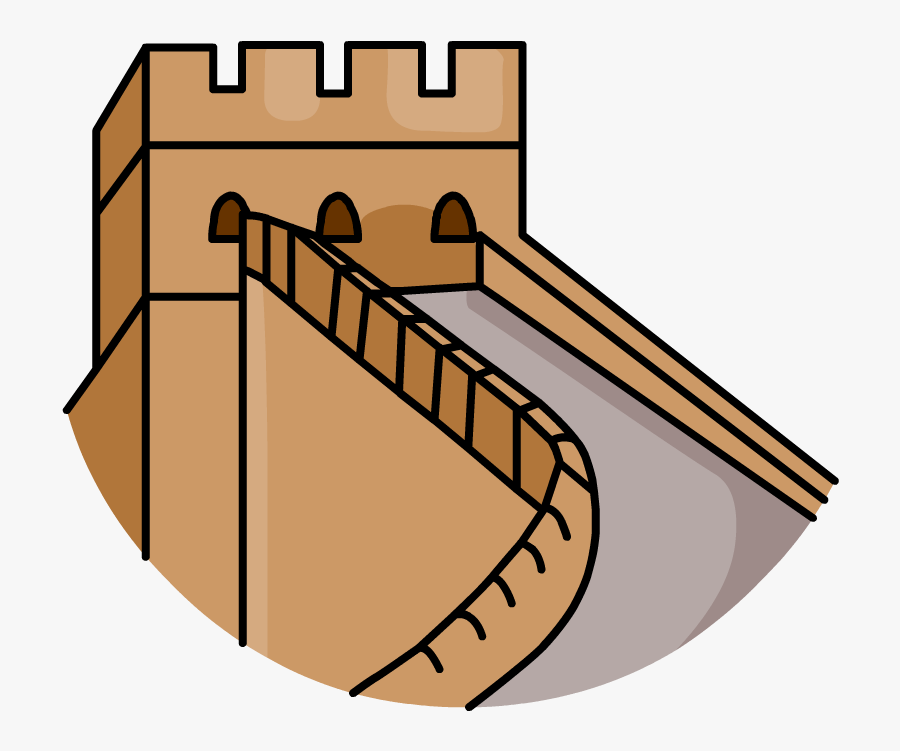 Great Wall - Great Wall China Png, Transparent Clipart