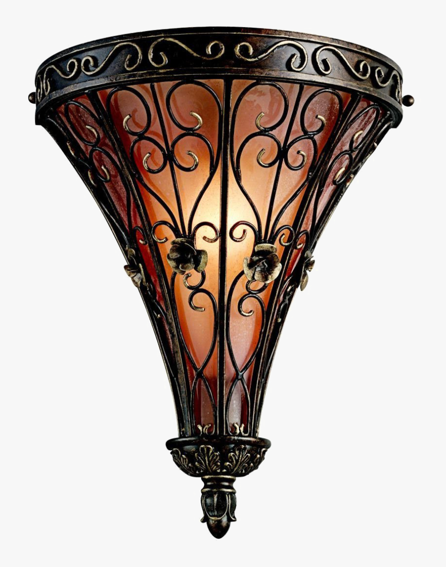 Wall Light Png Clipart - Gothic Wall Sconce Lighting, Transparent Clipart
