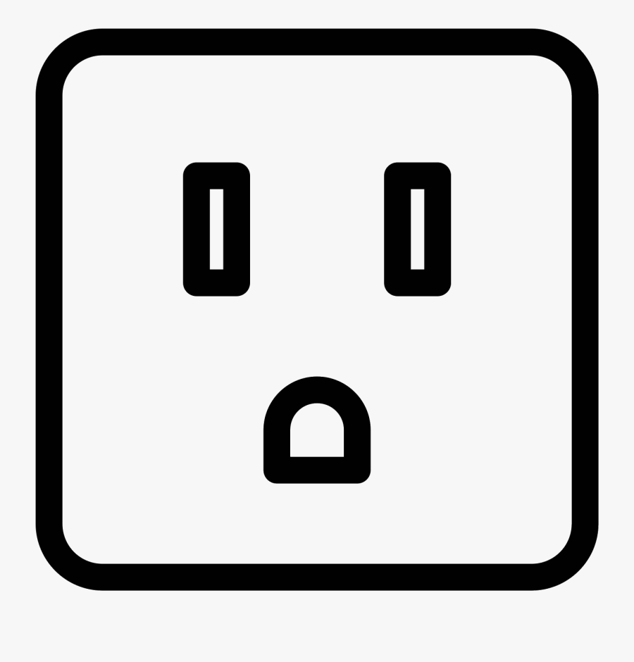 Socket Icon Free Download - 3 Pin Socket Icon, Transparent Clipart