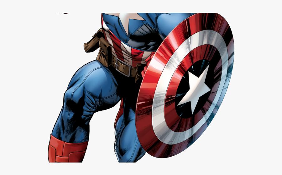 Captain America Cartoon Avengers, Transparent Clipart