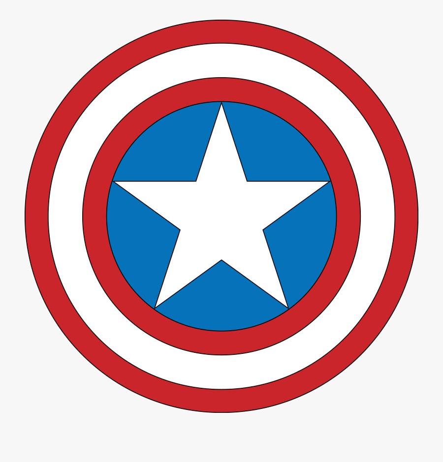 Captain America Png Picture - Transparent Captain America Logo, Transparent Clipart
