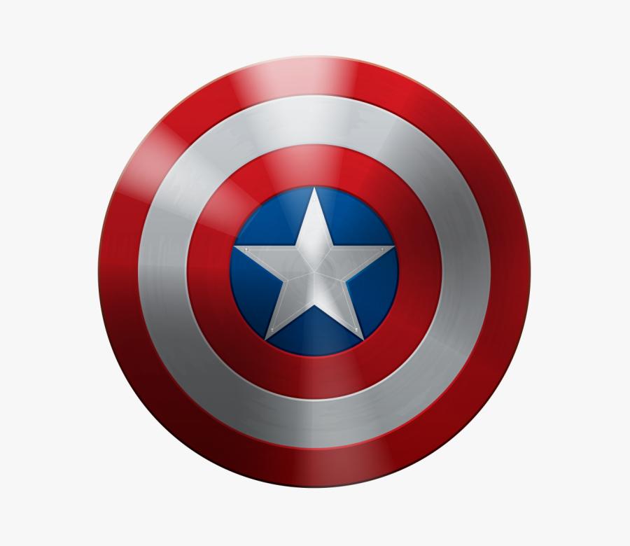 Transparent Captain Clipart - Captain America Shield Png, Transparent Clipart