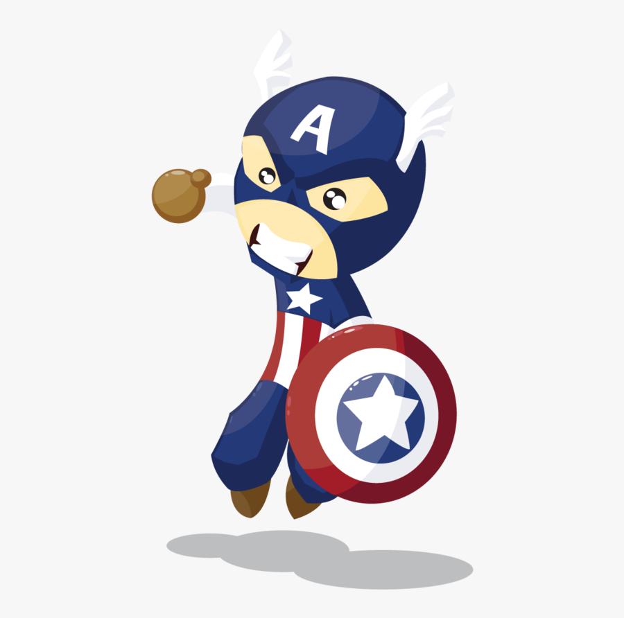 Vector America Car Rhyme Nursery Captain Drawing Clipart - Captain America Vector Free, Transparent Clipart