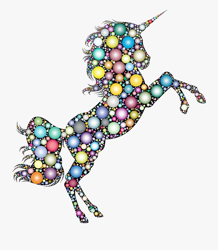 Art,jewellery,body Jewelry - Gold Glitter Unicorn, Transparent Clipart