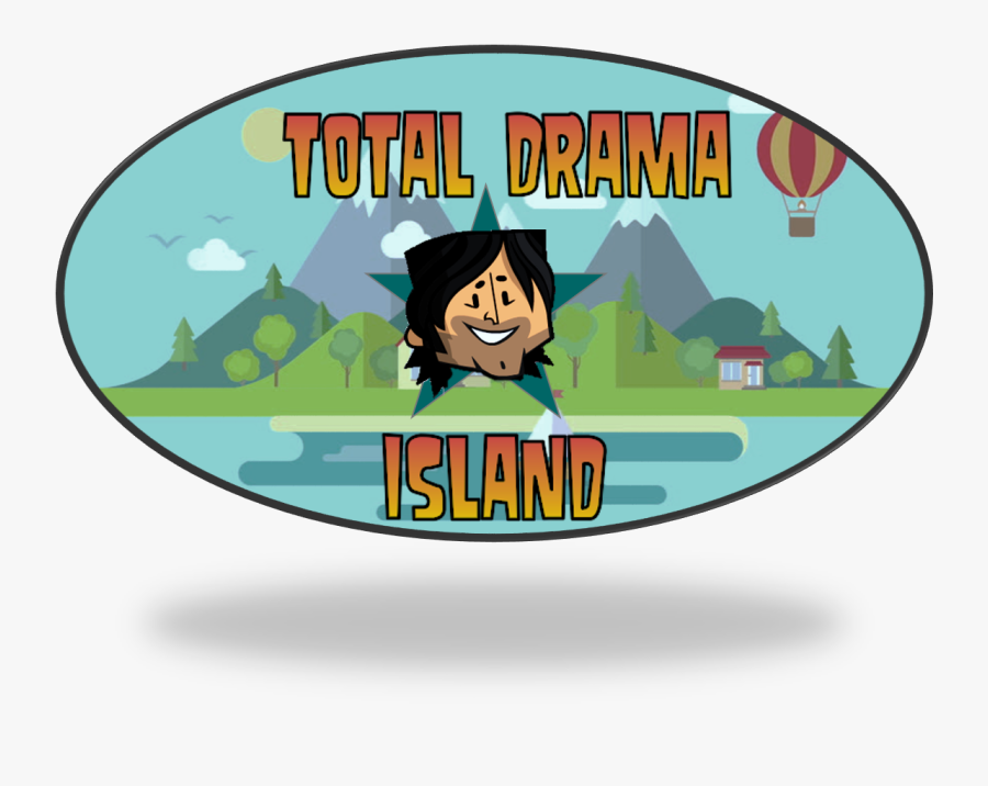 In This Reboot Of Total Drama Island, Eighteen Campers - Mountain Cartoon Hd, Transparent Clipart