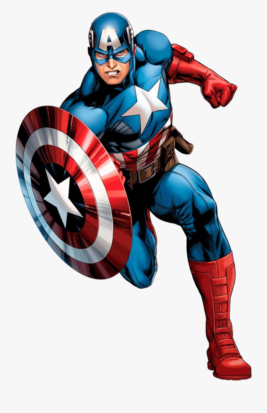 Captain America Transparent Png Images Captain America Cartoon Png Free Transparent Clipart Clipartkey