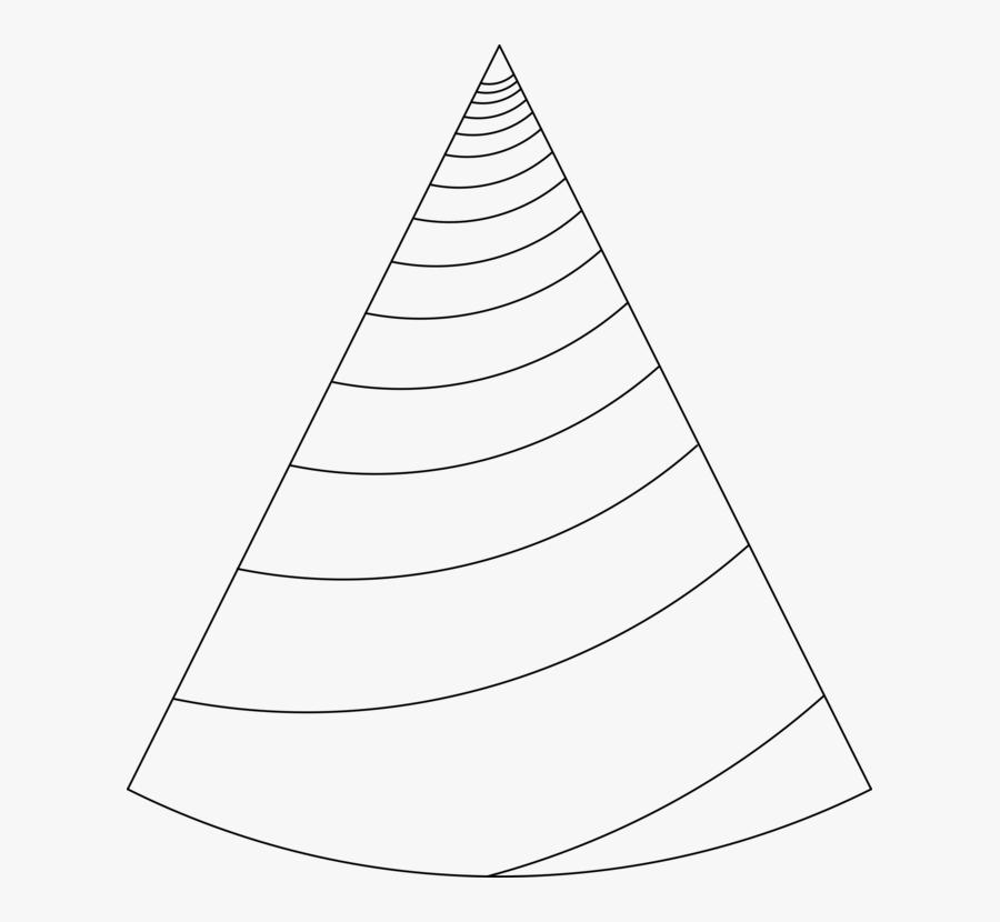 Transparent Unicorn Horn Png - Unicorn Horn Template 3d, Transparent Clipart