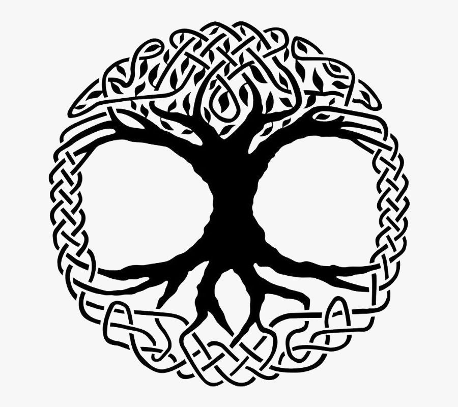 Celtic Tree Of Life And Our Logo - Norse Tree Of Life Symbol, Transparent Clipart