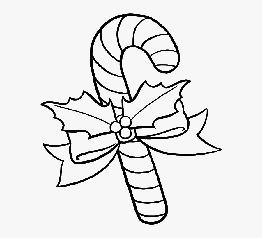 Pretty Sweet Candy Coloring Pages - Candy Black And White Coloring, Transparent Clipart
