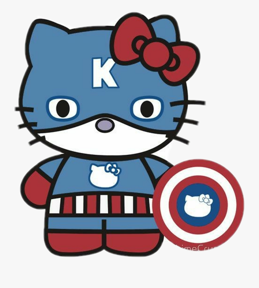 hellokitty captain america hello kitty in america png free transparent clipart clipartkey hellokitty captain america hello