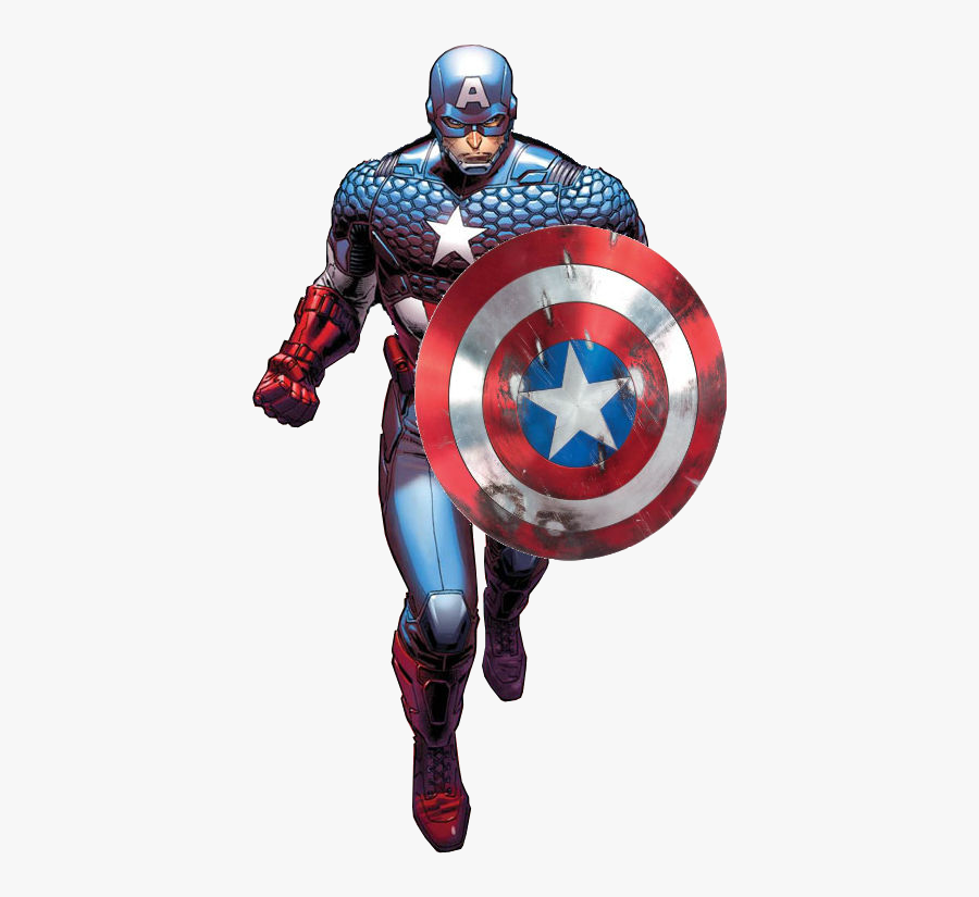 Free Download Of Captain America Png Clipart - Marvel Now Captain America Comic, Transparent Clipart