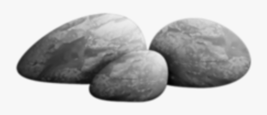 Largest Collection Of Free To Edit Stones Path 50shades - Monochrome, Transparent Clipart