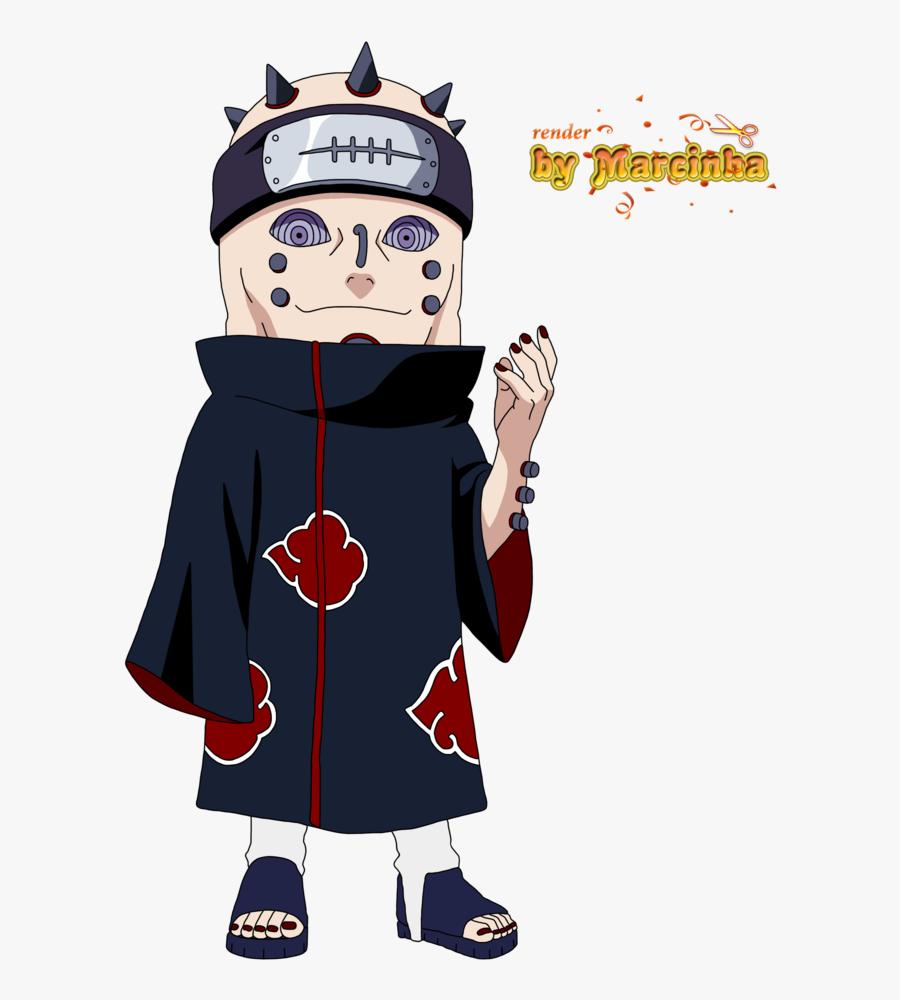 Naruto Pain Clipart Anime Chibi Maker - Pain Chibi Png, Transparent Clipart
