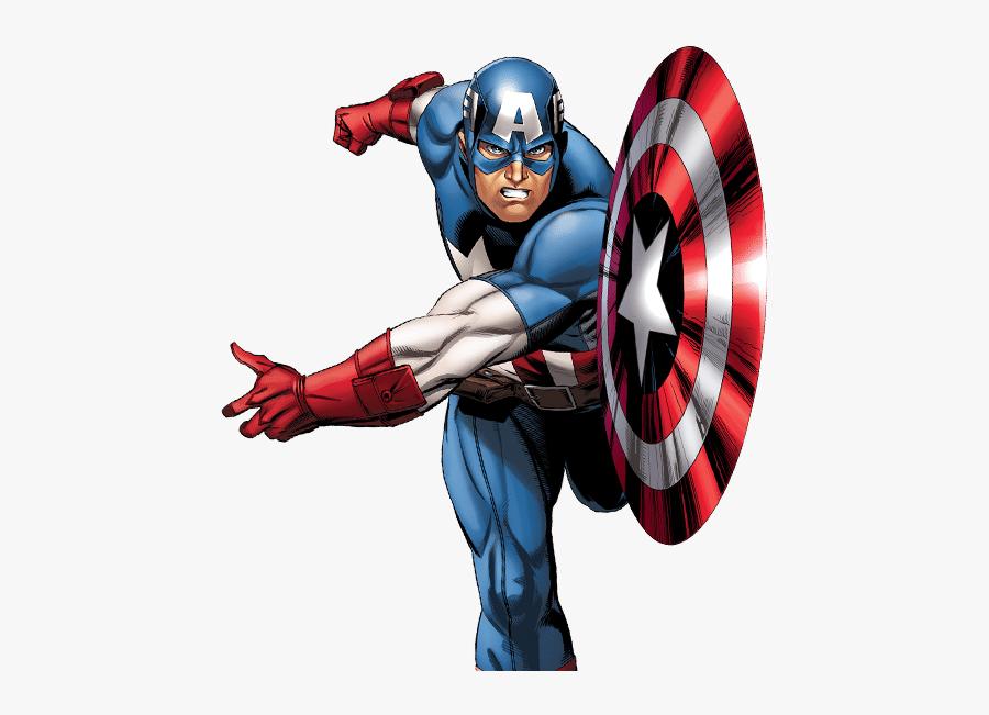 Marvel Avengers Captain America Png Image - Captain America Comics Transparent, Transparent Clipart