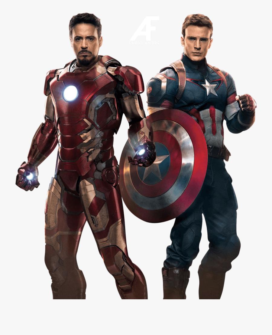 Avengers Ironman Captain America - Avengers Png, Transparent Clipart