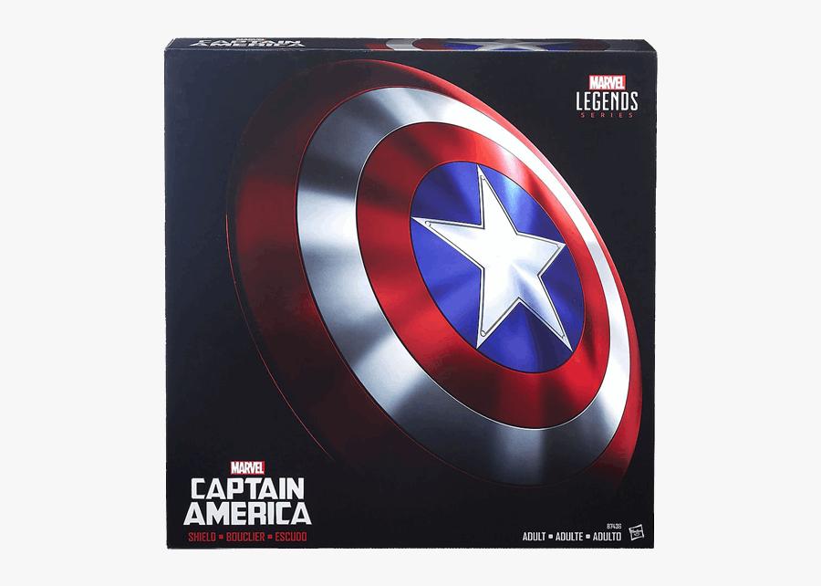 Captain America Shield Replica Marvel Legends, Transparent Clipart