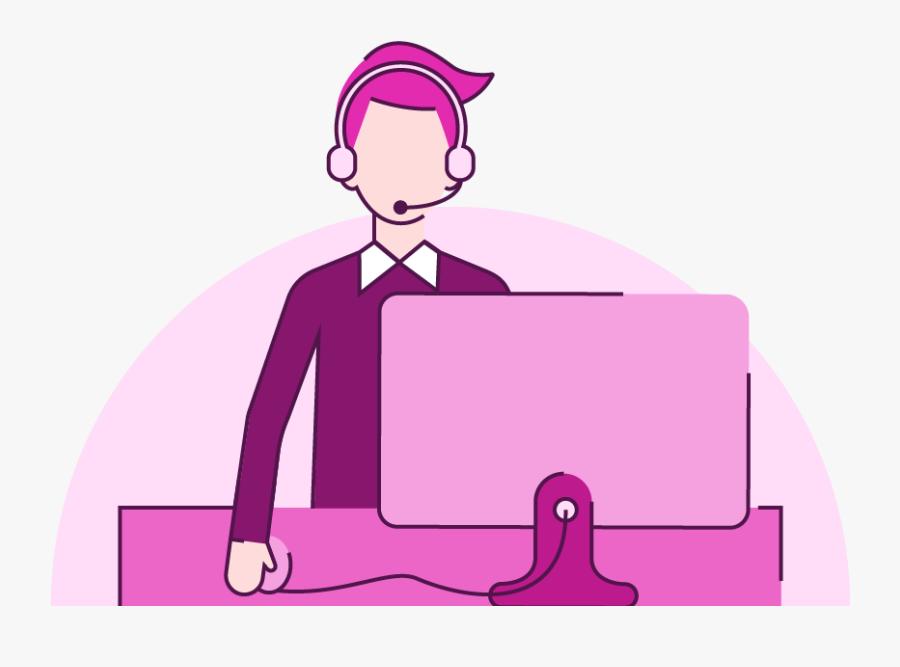 Presentation Helpdesk - Presentation Help Desk, Transparent Clipart