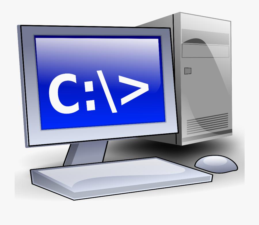 Computer Client - Desktop Computer Clipart, Transparent Clipart