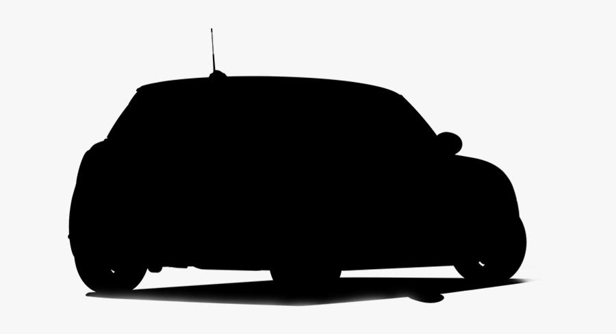 Car Silhouette Png - Car Silhouette Back Png, Transparent Clipart