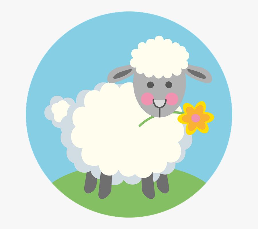 Easter Lamb, Lamb, Easter, Sheep, Cute, Sweet, Lambs - Sheep, Transparent Clipart