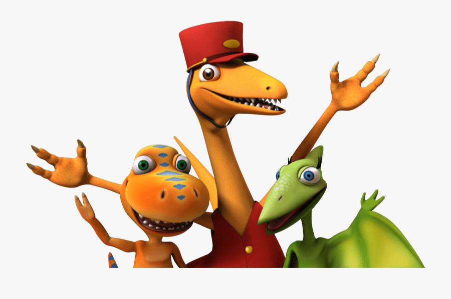 Transparent Dinosaur Cartoon Png - Animated Dinosaur Train Characters, Transparent Clipart
