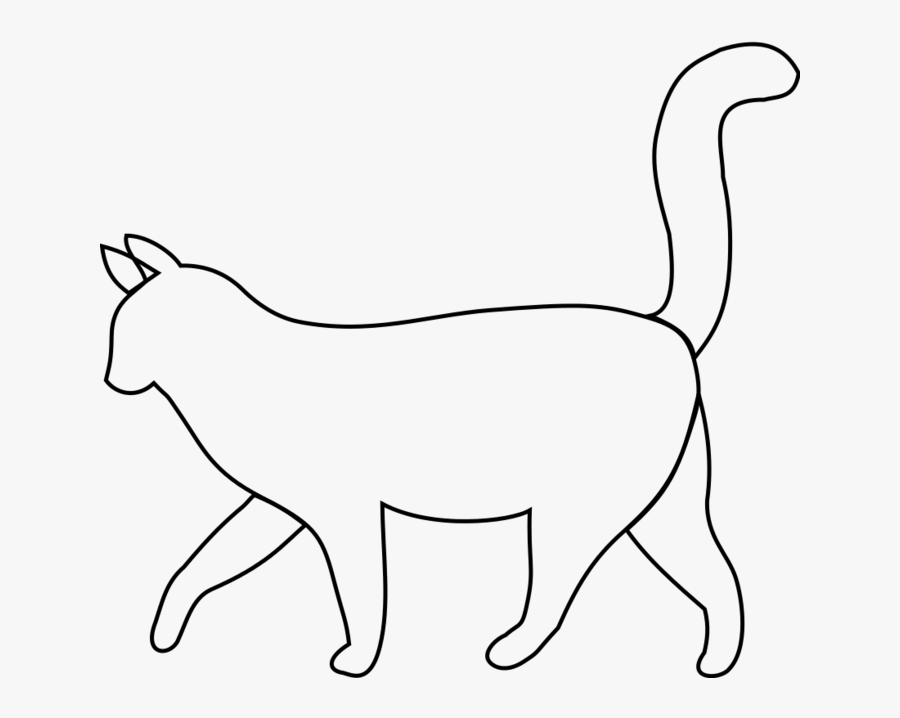 Cat Page Of Bclipart Clip Art Cliparts - Walking Cat Clip Art, Transparent Clipart
