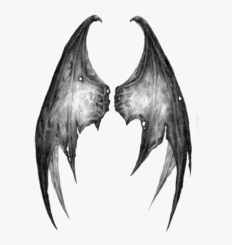 #stickergang #wings #demon #dragon #angel #whoknows - Transparent Demon Wings Png, Transparent Clipart