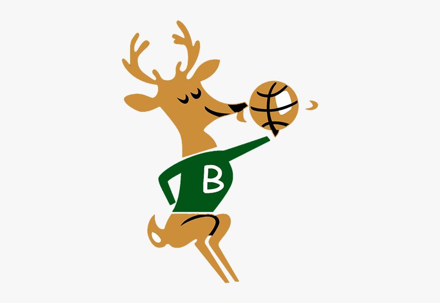 1969 Milwaukee Bucks Logo, Transparent Clipart