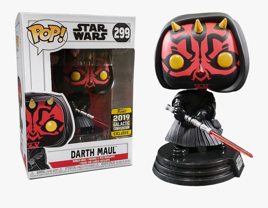 Star Wars Episode I - Funko Pop Star Wars Darth Maul, Transparent Clipart