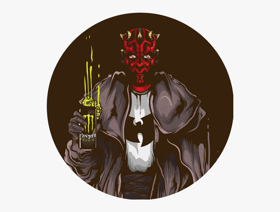Transparent Darth Maul Clipart - Illustration, Transparent Clipart