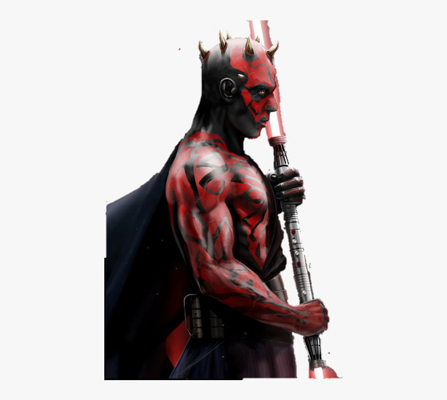Darth Maul Png Render By Mrvi - Darth Maul Png, Transparent Clipart
