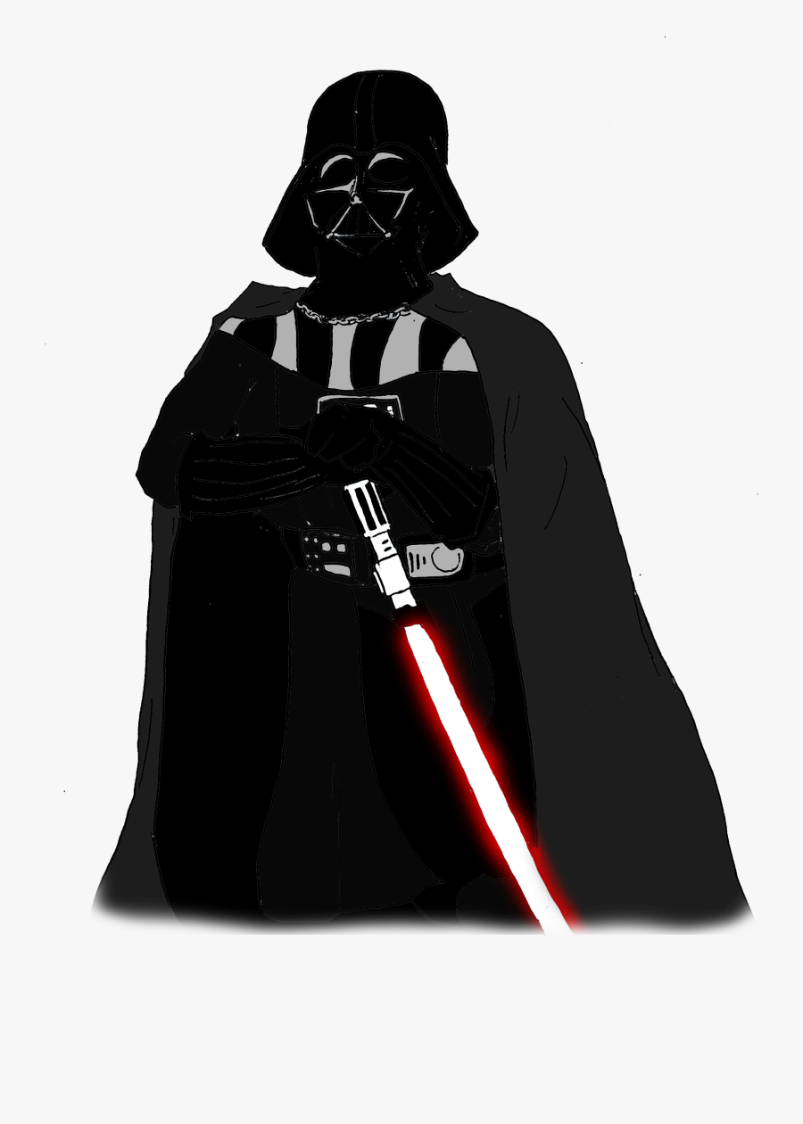Anakin Skywalker Darth Maul Yoda Darth Vader And Son - Darth Vader Cartoon Png, Transparent Clipart