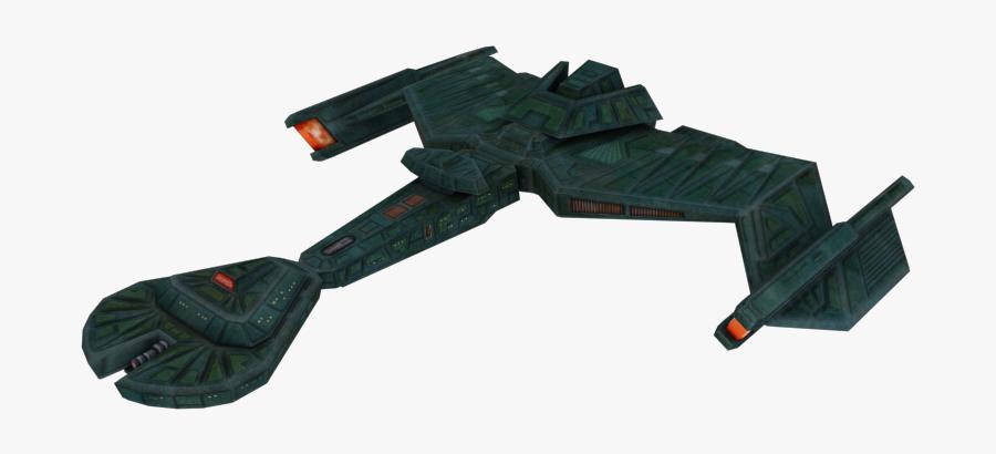 Armada Klingon Starship Enterprise - Transparent Star Trek Ship, Transparent Clipart