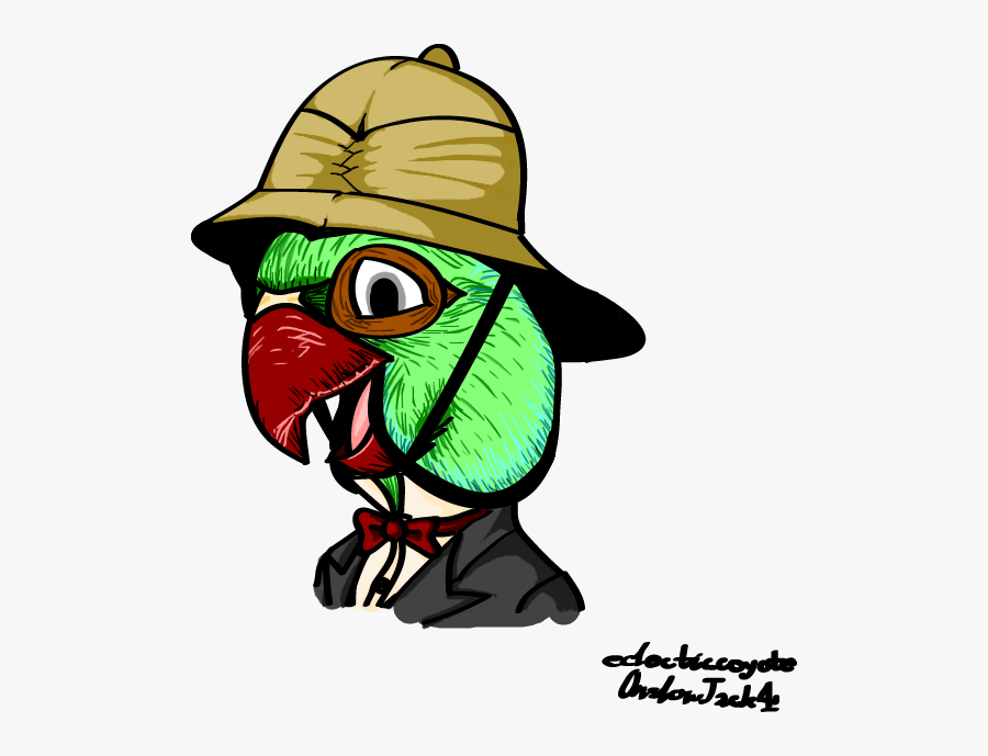 Image Result For Cartoon Character Pith Helmet - Cartoon, Transparent Clipart
