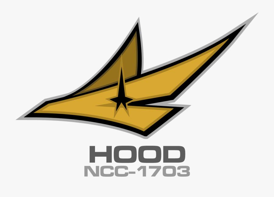 Transparent Star Trek Ship Clipart - Emblem, Transparent Clipart