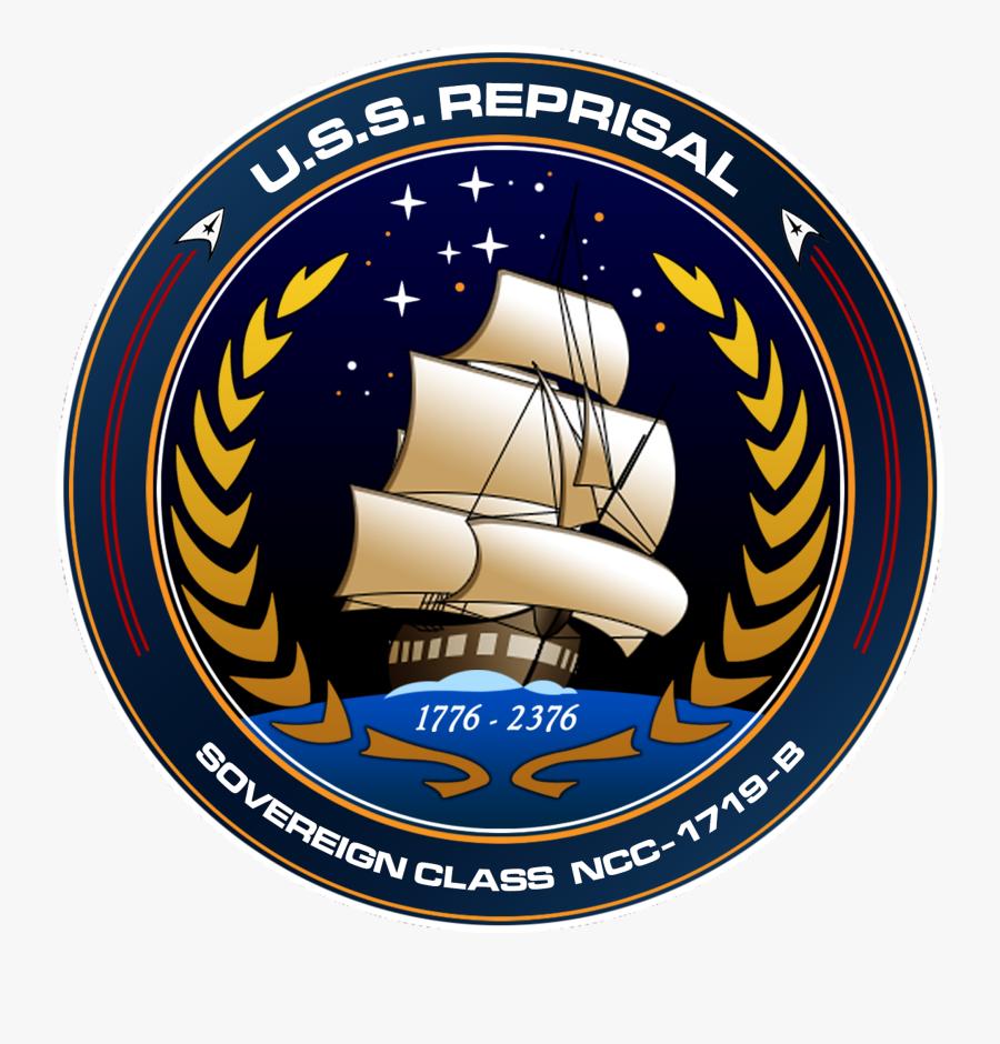 Star Trek Ship Patches, Transparent Clipart